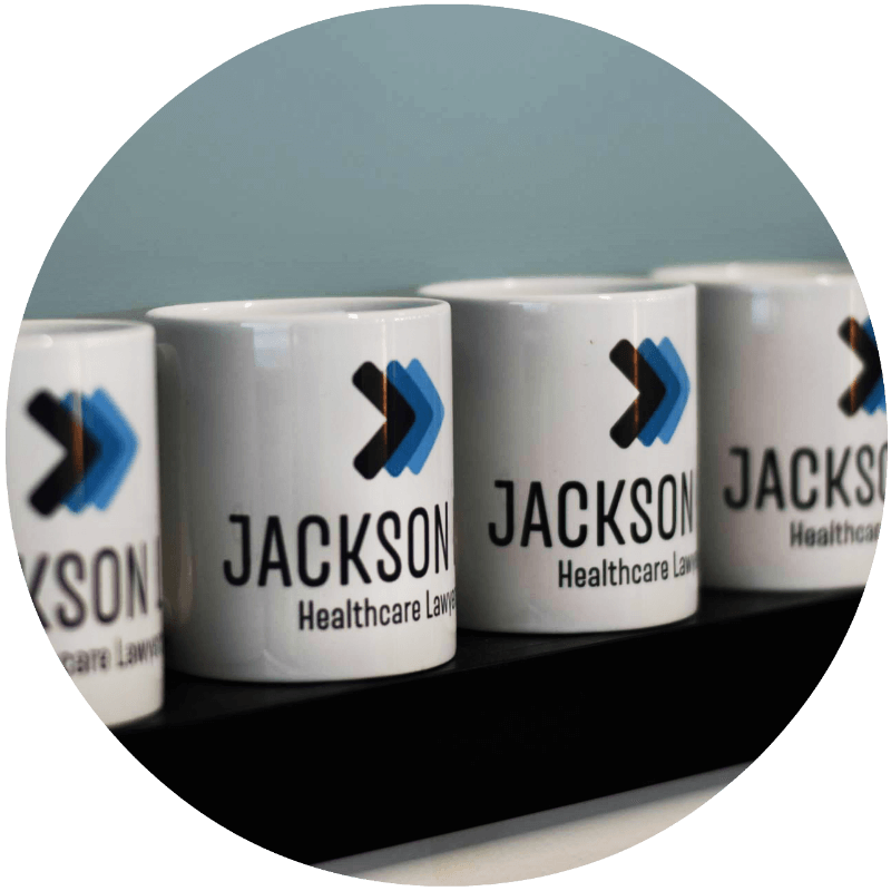 Jackson LLP Mugs