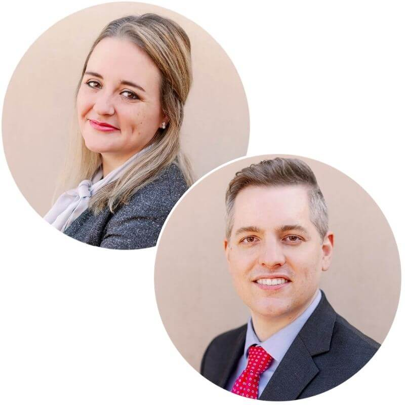 Erin and Connor Jackson, Partners at Jackson LLP Healthcare Lawyers